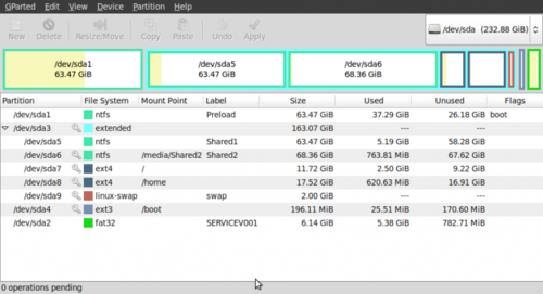 how to create an extended partition